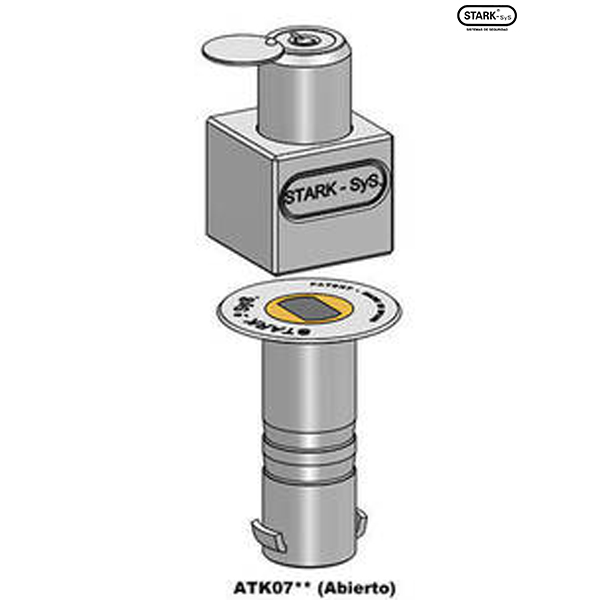 ATK07 - Locking device for overhead doors